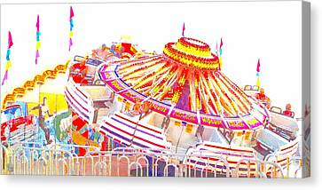 Canvas Print featuring the photograph Carnival Sombrero by Marianne Dow