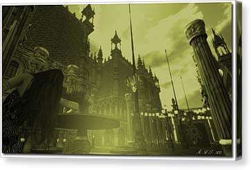 Carnivale - After Absinthe Canvas Print