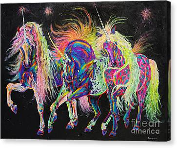 Carnivale Canvas Print by Louise Green