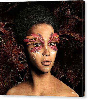 Carnivale Canvas Print by Maynard Ellis