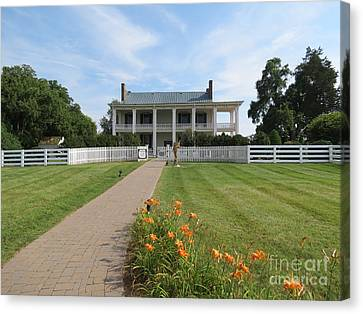 Carnton Plantation Canvas Print - Carnton Plantation by Aimee Mouw