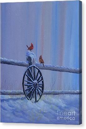 Carolina Cardinals Canvas Print