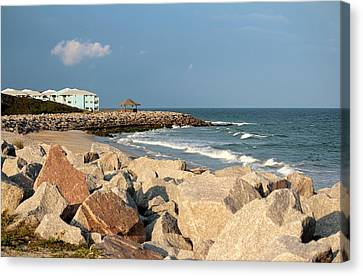 Canvas Print featuring the photograph Carolina Coast by Cynthia Guinn