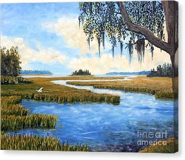 Carolina Colors Canvas Print