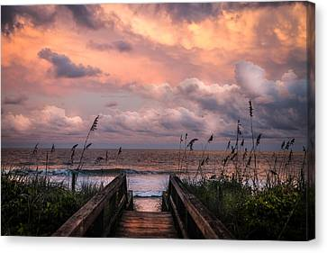 Sand Dunes Canvas Print - Carolina Dreams by Karen Wiles