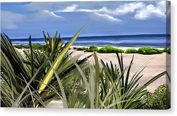 Carolina Dunes Canvas Print