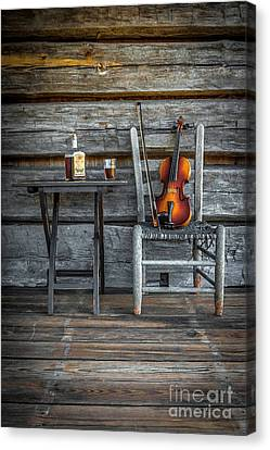 Carolina Fiddl'n Canvas Print