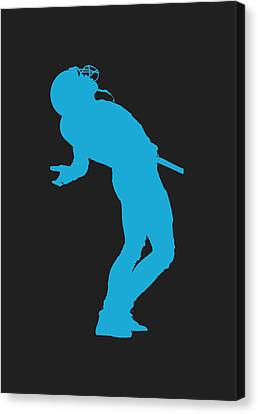 Carolina Panthers Steve Smith Canvas Print