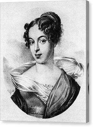 Caroline Unger-sabatier (1803-1877) Canvas Print