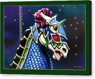 Carosel Horse Canvas Print by Ron Haist