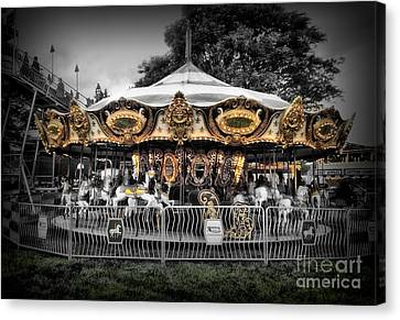 Carousel 1 Canvas Print by September  Stone