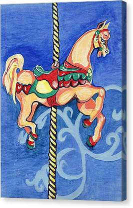 Carousel Dreams Canvas Print