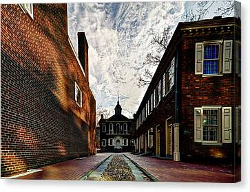 Carpenters Hall Canvas Print by Marty Straub