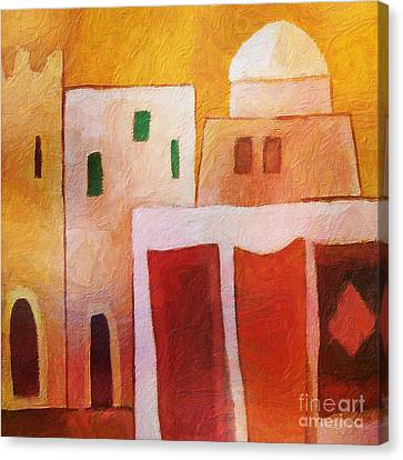 Carpet Town Canvas Print by Lutz Baar