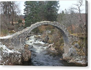 Carrbridge - Scotland Canvas Print
