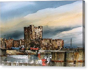 Carrickfergus Castle  County Antrim Canvas Print