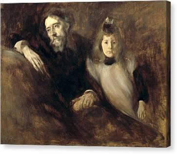 Carriere, Eug�ne 1849-1906. Alphonse Canvas Print by Everett