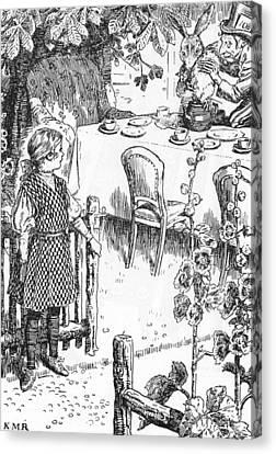 Carroll Alice, 1908 Canvas Print