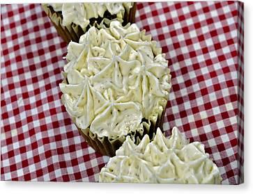 Carrot Cupcakes Canvas Print by Susan Leggett