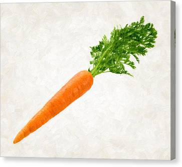 Carrot Canvas Print by Danny Smythe