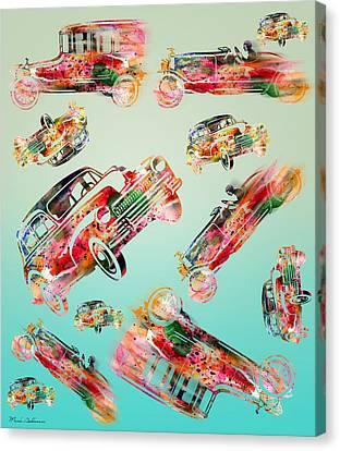 Cars  Canvas Print by Mark Ashkenazi