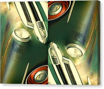 Carschach011 Canvas Print by Tony Grider