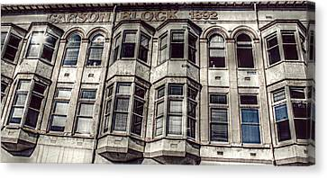 Carson Block Canvas Print by Melanie Lankford Photography