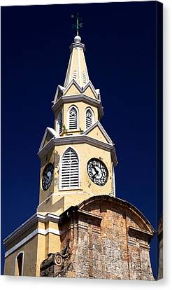 Cartagena Double Time Canvas Print by John Rizzuto