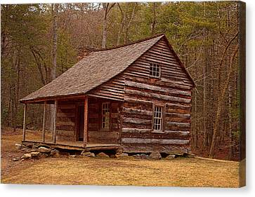 Carter Shields Cabin 3 Canvas Print by Wild Expressions Photography