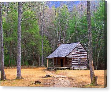 Carter Shield's Cabin II Canvas Print by Jim Finch