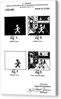 Cartoons Canvas Print