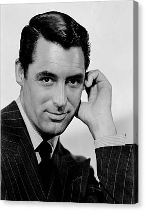 Cary Grant Canvas Print by Celestial Images