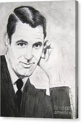 Cary Grant Canvas Print by Denise Railey