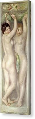 Caryatids Canvas Print