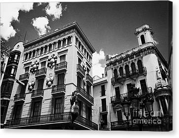 Casa Bruno Cuadros La Rambla Barcelona Catalonia Spain Canvas Print