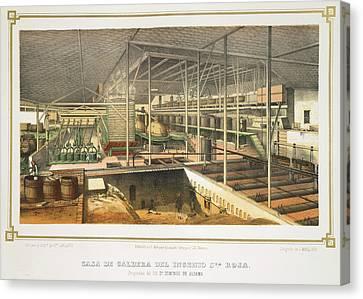 Casa De Caldera Canvas Print by British Library