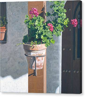 Casa Romantica Four Canvas Print by Michael Ward