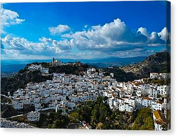 Casares In December Canvas Print