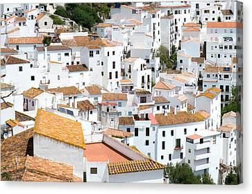 Casares Rooftops Canvas Print