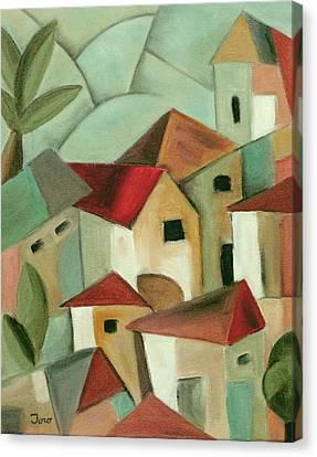 Casas I Canvas Print by Trish Toro
