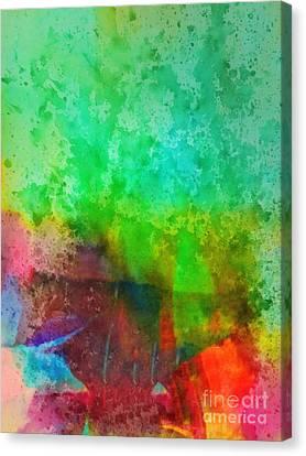 Cascade Canvas Print by Lutz Baar