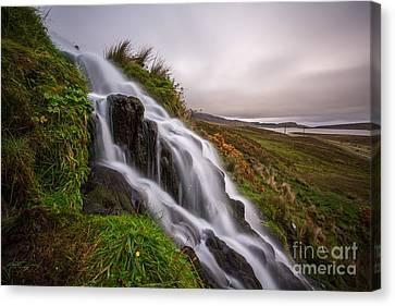 Cascade Canvas Print by Matt  Trimble