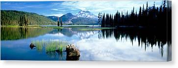 Cascade Mountains, Oregon, Usa Canvas Print