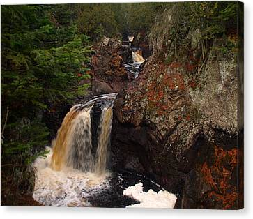 Cascade River Canvas Print
