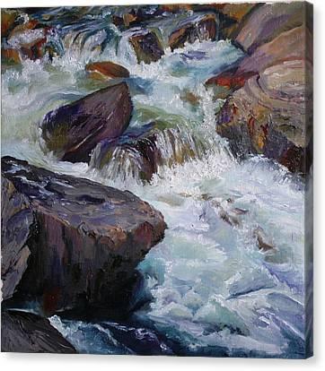 Cascades After Daniel Edmondson Canvas Print