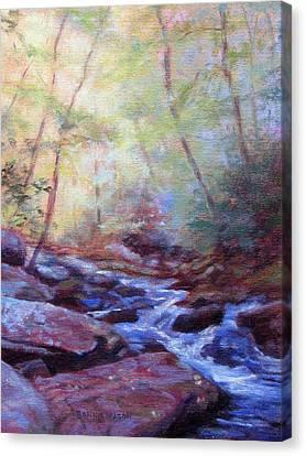 Cascading Canvas Print by Bonnie Mason