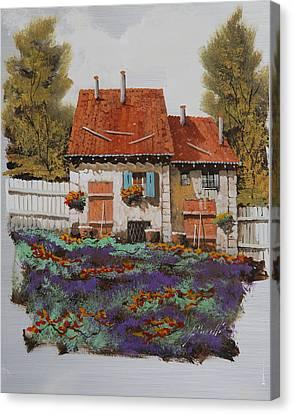 Case E Lavande Canvas Print