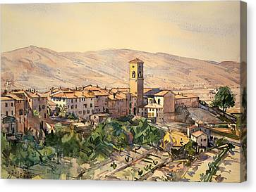 Casentino Tuscany Canvas Print by Mountain Dreams