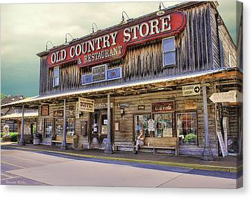 Casey Jones Village Store Canvas Print