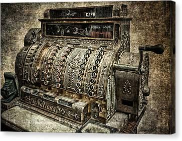 Cash - Dollars - Cents Canvas Print by Daniel Hagerman